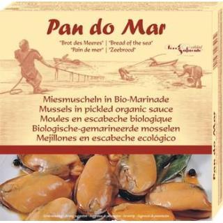 Miesmuscheln in Bio-Marinade