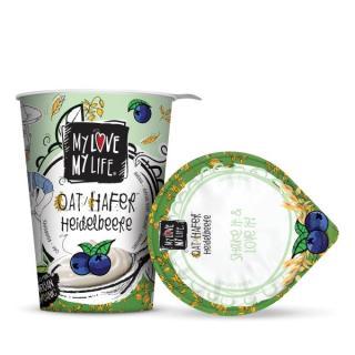 Hafer-Creme (Joghurtalternative) Heidelbeere